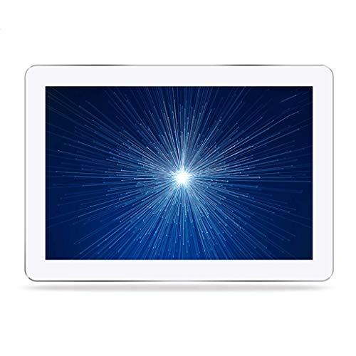 TUNBG digitale fotolijst, 15,6 inch, IPS Full-View fotoalbum, fotoalbum, elektronisch HD, digitaal album, (kleur: wit)