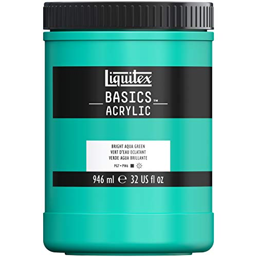 Liquitex Acrilico Basic, Verde Agua Brillante, 946 ML