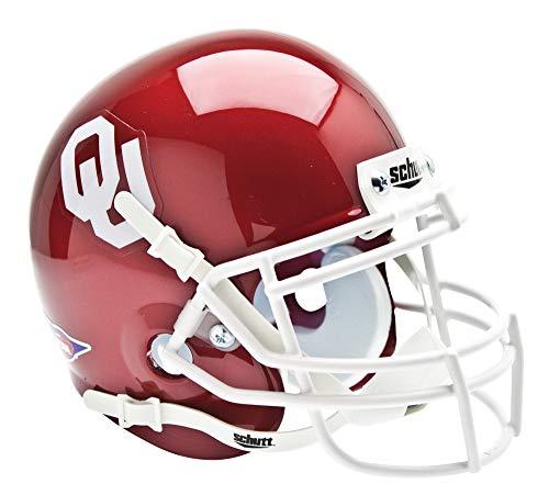 Schutt NCAA Mini Authentic XP Football Helmet, Oklahoma Sooners