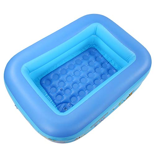 Omabeta Fácil de inflar con un Lindo patrón Piscinas para Nadar al Aire Libre Piscina Inflable Bañera para niños Inflable Segura y ecológica para Interiores y Exteriores