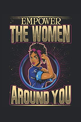 Cuaderno: feminista, poder de la mujer, derechos de la mujer: 120 páginas rayadas: cuaderno, cuaderno de bocetos, agenda, lista de tareas pendientes, ... para planificar, organizar y tomar notas.