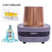 The Cooler è lì per mantenere le vostre bevande immediatamente fredde e alla stessa temperatura. Così puoi goderti il tuo drink anche per un giorno intero. Fatto di buona qualità - alluminio e materiale aeronautico - aletta di raffreddamento, assicur...