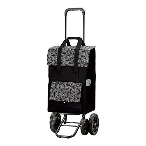 Andersen Shopper Quattro und 50 Liter Tasche Vara schwarz