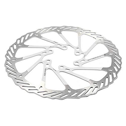 Vélo à vélo Poignée de Frein Pièces de Rechange Vélo VTT en Acier Inoxydable Disque de Frein Avid G3 160mm Composants vélo Pièces (Couleur : White)
