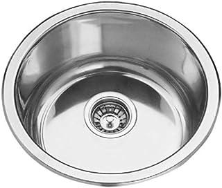 Einbauspüle Edelstahl Spülbecken Küchenspüle Edelstahlspüle Waschbecken Cornetto ZHC 0803