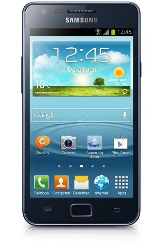 'Samsung Galaxy SII Plus I9105–Smartphone (109.2mm (4.3), 800x 480, 1.2GHz) (Import Italien)