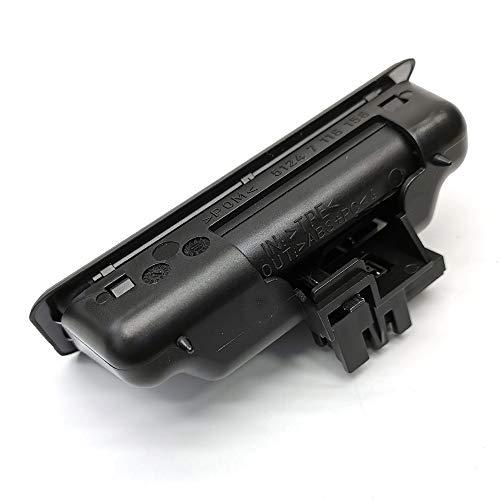 FEXON Trunk Lid Lock Release Push Button Handle Switch Compatible with BMW Series 1 Series 3 Series 5 X6 X5 X1 E60 E90 E91 E92 E93 E70 E71 51247118158 51-24-7-118-158 7118158