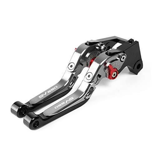 Motorcycle Brake Clutch Levers Motorcycle Accessories Folding Extendable Brake Clutch Levers For Su&zuki SV650 SV650X SV 650X 650 X 2016 2017 2018 2019 2020 (Color : 3)