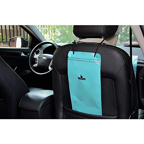 150pcs Car Trash Bags, Car-mounted Trash Bags, Disposable Storage Bags for Cars, Homes, Schools, and Offices (Color : Blue)