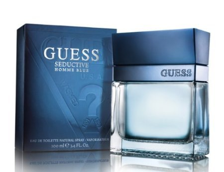 Raad verleidelijke Homme Blue Guess voor mannen 3.4 oz