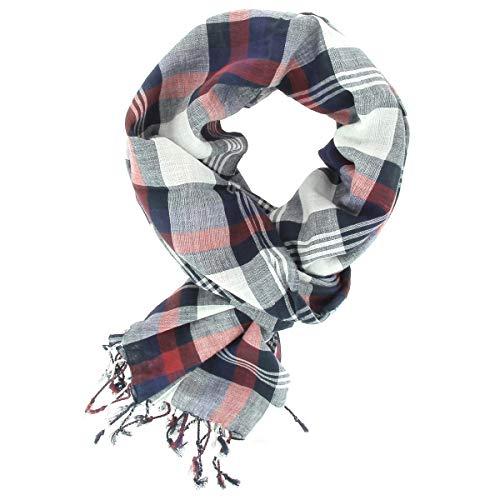 pa/ñoleta para el cuello bufanda pa/ñuelo para el cuello Hombres 100/% algod/ón Tracht /& Pracht cuadros Pa/ño tradicional bandana