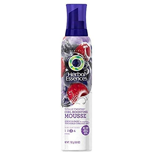 Herbal Essences Mousse 6.8 Ounce Totally Twisted Curl Boosting (201ml) (6 Pack)