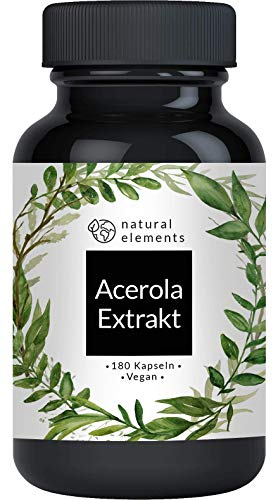 natural elements -  Acerola Kapseln -