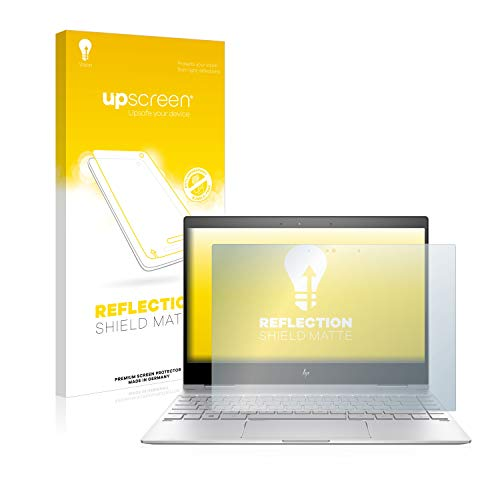 upscreen Entspiegelungs-Schutzfolie kompatibel mit HP Spectre x360 13-ae0xx – Anti-Reflex Bildschirmschutz-Folie Matt
