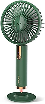 LaHuko USB Desk Small Personal Portable Fan with Rechargeable Battery