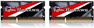 8GB G.Skill Ripjaws DDR3 1866MHz SO-DIMM laptop memory dual channel kit (2x 4GB) CL10