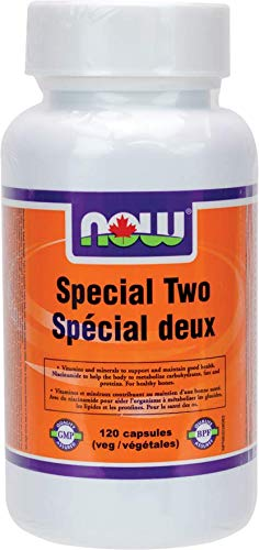 NOW Special Two + Green Superfoods 120 Veg Capsules, 120 g