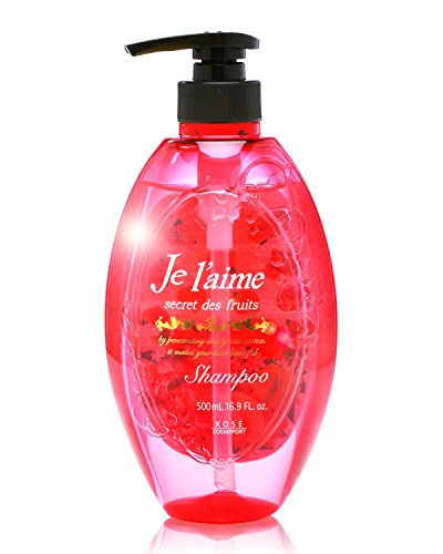 KOSE COSMEPORT Je l'aime Non-silicon Deep Moist Hair Shampoo 500mL from Japan