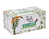 Organic eco-Friendly Indoor herb Garden Starter kit | Herb Garden Seed kit Gift Box | DIY Grow kit for The...