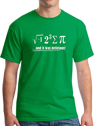Math Shirt I Ate Some Pie March 14th T-Shirt Irish Green XL