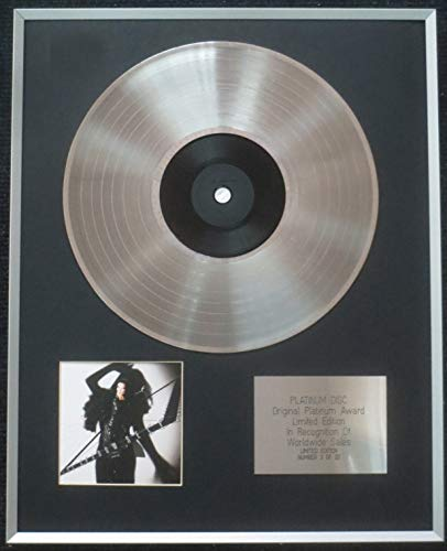 Century Presentations - Tarja Turunen – Limited Edition CD Platinum LP Disc – The Shadow Self