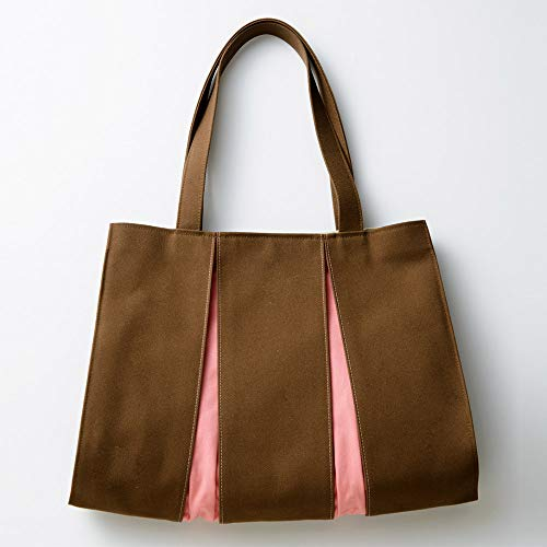 Kosho Takashimaya Original Tote Bag NH Brown x Sermon Pink