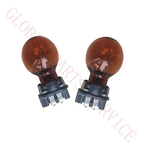 2PCS Amber Color Turn Signal Light Bulb PWY24W 12174 12V 24W 39200533 Steering Lamp Bulb DS7Z-13466-A N10776302 31395693