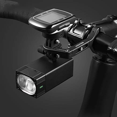 FSSQYLLX Bicycle Light Bicycle Headlight With Mount Holder Waterproof Rechargeable Bike Flashlight Race Accessories