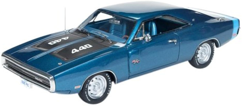 American Muscle 1 43 Dodge Charger 1970 Medium bluee Metallic