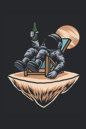 Astronaut Bier im Weltall