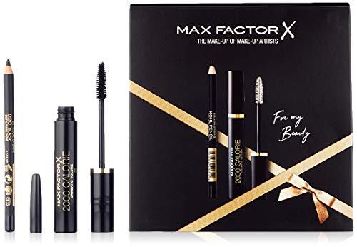 Max Factor Geschenkset (2000 Calorie Mascara Black Wimperntusche,9ml+Kohl Pencil Kajal,4g), 10.8 ml