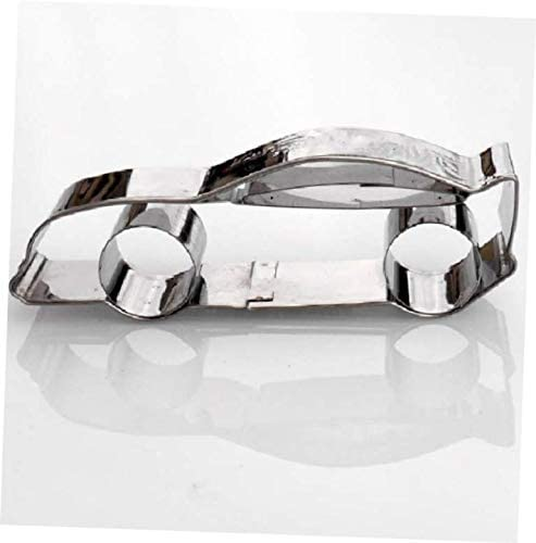 1 Pcs Cookie Cutter Sports Stainless #AA60DL Steel Memphis Very popular! Mall Car Shape
