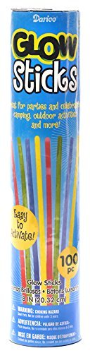 Glow Sticks Party Tube - 10.5 inches - 100 pieces