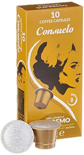 Consuelo Nespresso* kompatible Kapseln – Supremo, 100 Kapseln (10x10)
