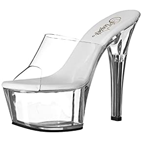 Pleaser Women's Aspire-601/c/b Platform Sandal