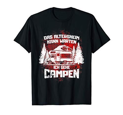 Fun Camper Campen Camping Wohnwagen Womo Urlauber Geschenke T-Shirt