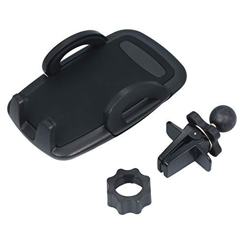 Fesjoy Soporte para teléfono con ventilación de Aire para Montaje en teléfono para automóvil con botón de liberación instantánea de rotación de 360 Grados para teléfono móvil de 4-6 Pulgadas