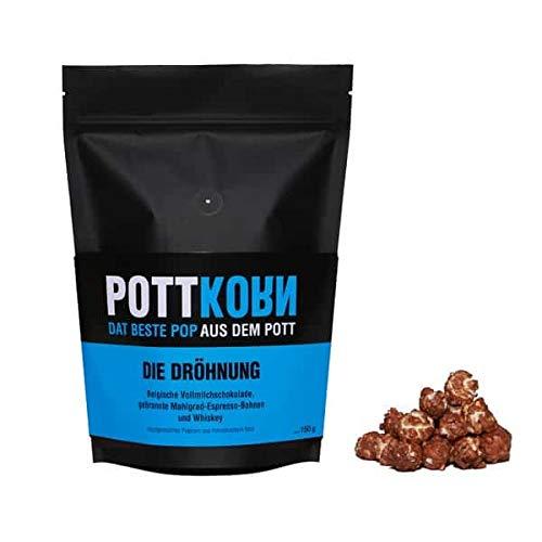Pottkorn - Dat Beste Pop aus dem Pott - Die Dröhnung mit Vollmilchschokolade, Espresso-Bohnen und Whiskey 80 g