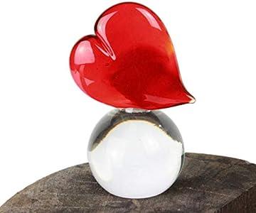 Original Murano Glass OMG Heart Love - Pisapapeles