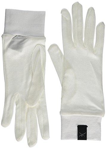 Terramar Adult Thermasilk Glove Liner (Natural, Large)
