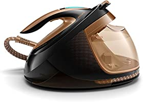Philips PerfectCare Elite Plus Steam Generator Iron with OptimalTEMP Technology, 1.8L Detachable Water Tank & Automatic...