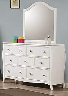 Coaster Home Furnishings Dominique 7-Drawer Dresser White