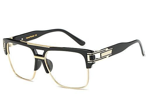 Allt Square Aviator Large Fashion Sunglasses For Men Women Goggle Alloy...