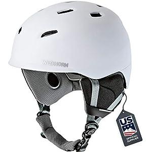 Wildhorn Drift Snowboard & Ski Helmet – US Ski Team Official Supplier – Performance & Safety w/Active Ventilation