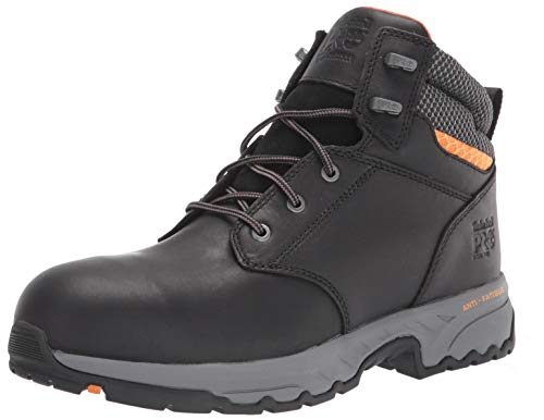 Timberland PRO Men's Band Saw 6 Inch Steel Safety Toe Industrial Work Boot, Black, 10.5 Wide