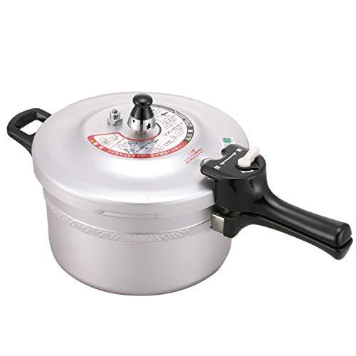 北陸アルミニウム リブロン 圧力鍋 4.5L アルミニウム合金 日本 AAT4902