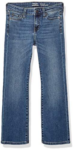 Amazon Essentials Girls' Boot-Cut jeans, Blau (Arizona/Light), 12S