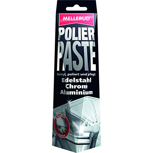 MELLERUD 2003203203 Polierpaste 150 ml für Edelstahl, Chrom, Aluminium