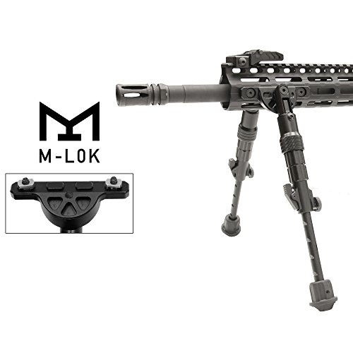 UTG Recon Flex M-LOK(R) Bipod, Matte Black, Cent. Ht. 5.7