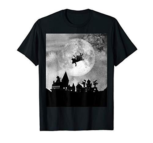 Wonderland Night in Black & White - Alice in Wonderland T-Shirt